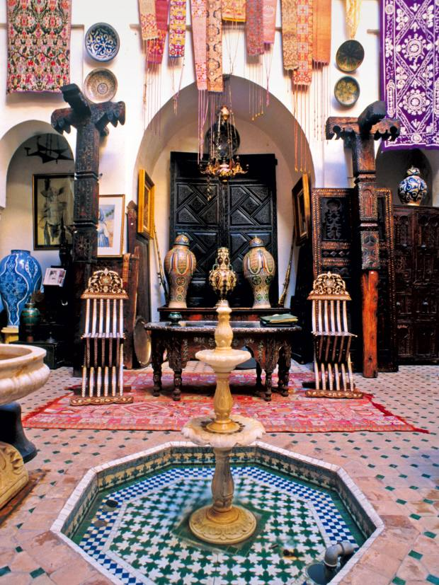 The Khalid Art Gallery is an emporium of Moroccan treasures