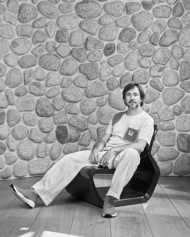 Marc Newson is a prolific designer whose varied works include furniture design