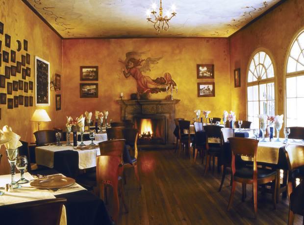 The restaurant at Café Cultura