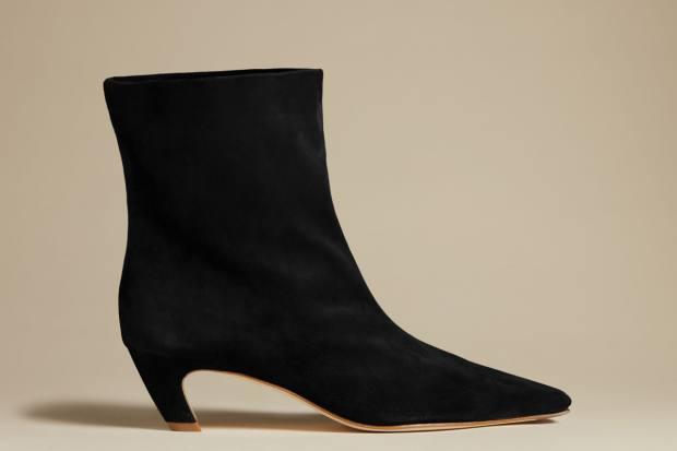 Khaite suede Arizona boots, £950