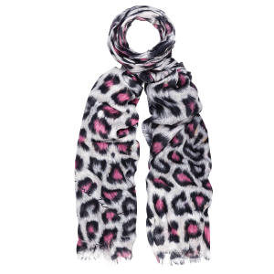 Lily and Lionel modal Hope scarf, £100; 50 per cent of the sale price goes to Future Dreams (www.futuredreams.org.uk). 