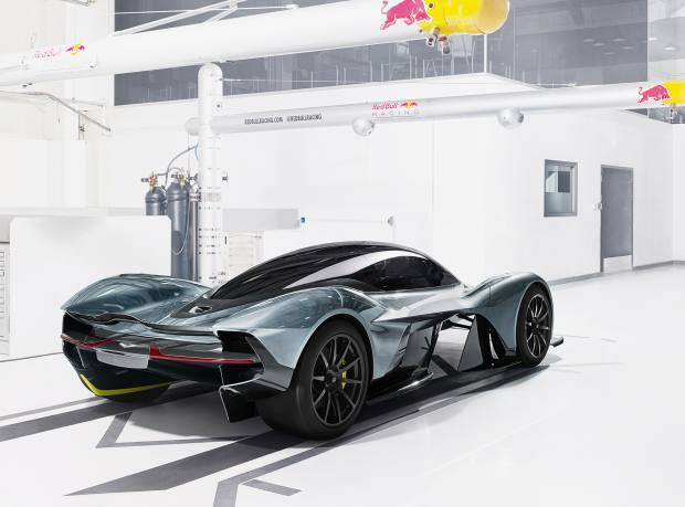 The rear of the Aston Martin AM-RB 001, £2m-£3m