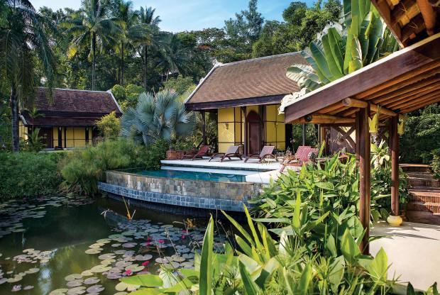 The hotel's award-winning Mekong Spa