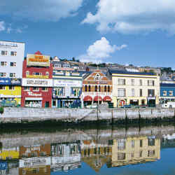 St Patrick's Quay is a reminder of Cork's trading past.