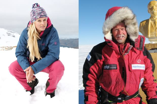 Ski Sunday presenter Chemmy Alcott is among the hosts at the event, along with The Oxford Ski Company's Rupert Longsdon, who was part of the first expedition to reach the Antarctic Pole of Inaccessibility