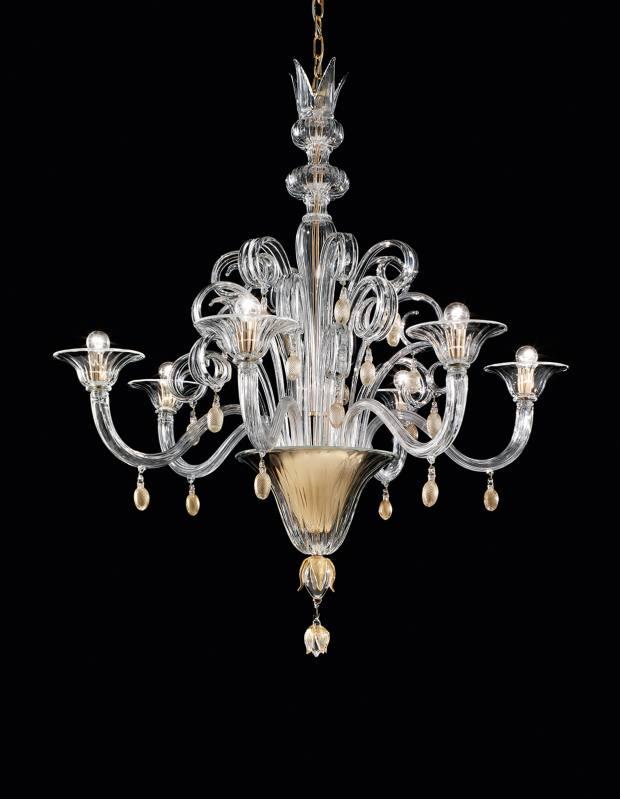 Napoleone Martinuzzi for Venini Doge chandelier, £10,500