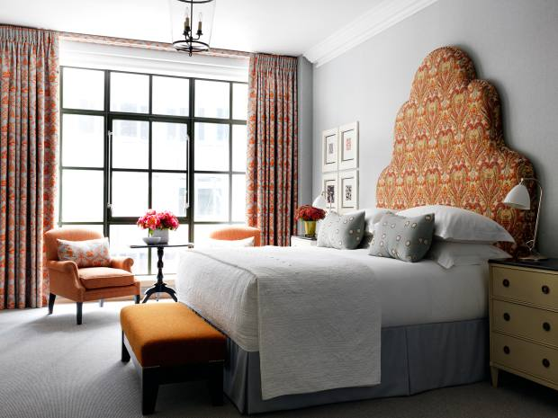 The Whitby's 86 rooms showcase Firmdale co-owner Kit Kemp's love of bold contrasts
