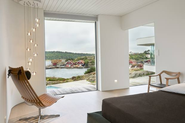Saunders Architecture's Villa AT, on the Norwegian coastline of Søgne