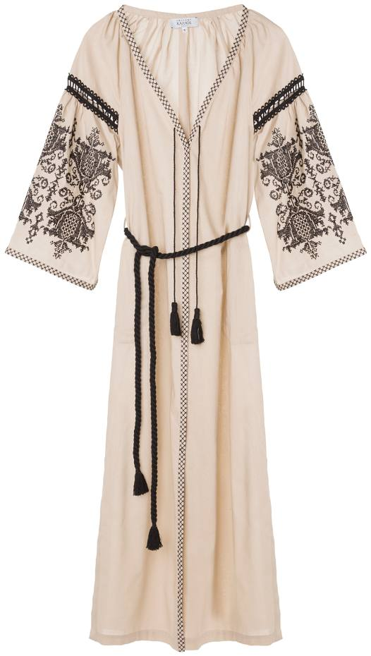 Ancient Kallos embroidered cotton Penelope dress, €270
