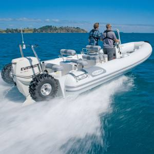 A 7.1m Sealegs amphibious craft, from £100,000
