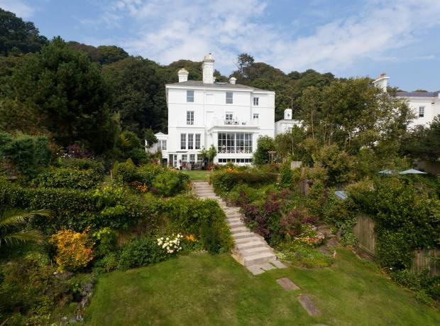 Undercliff House, a six-bedroom early-Victorian house in Sandgate, near Folkerstone, £1.8m through Humberts