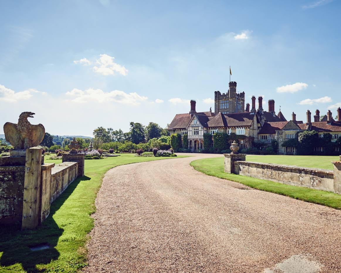 Cowdray House is surrounded by 110 acres of idyllic gardens within the Cowdray Estate in West Sussex