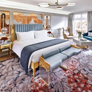 Mandarin Oriental Hyde Park has high-glam roomsdesigned byJoyce Wang