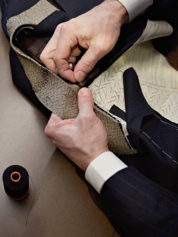 Ermenegildo Zegna's bespoke overcoat service combines modern fabrics with design history