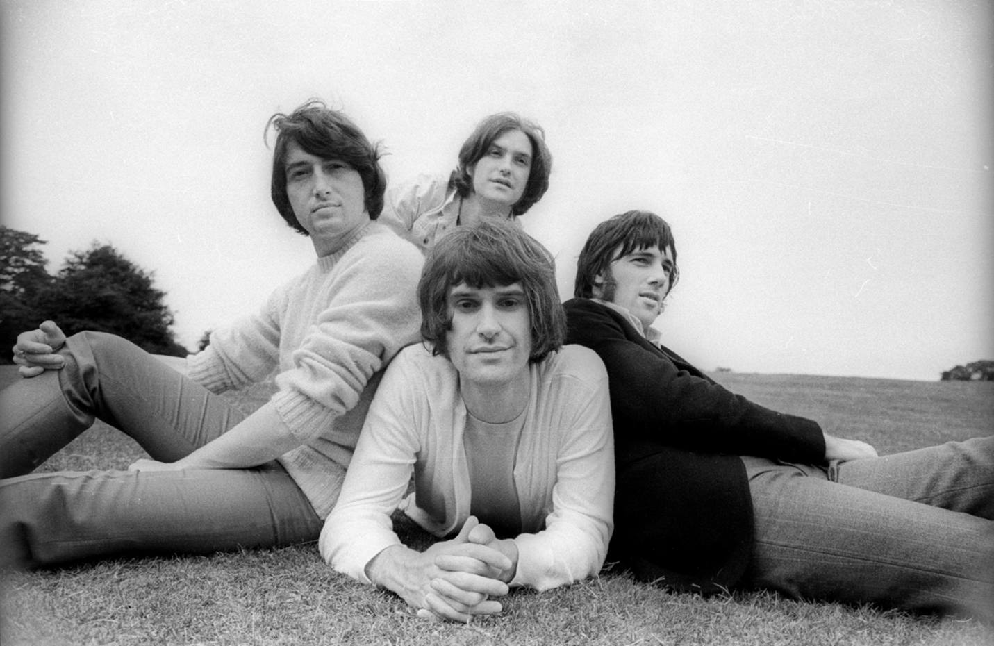 The Kinks en Hampstead Heath, 1968