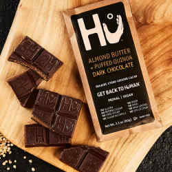 Olivia Chantecaille loves Hu Organic Fairtrade Chocolate
