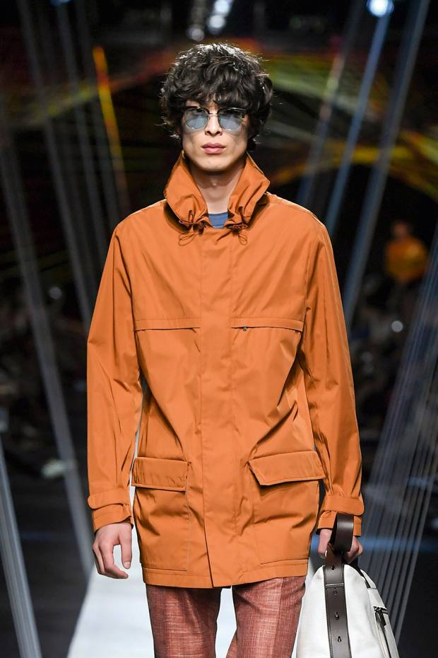 Canali technical-fabriccagoule, £800