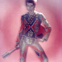 Bowie as his Ziggy Stardust persona in 1972, £9,600