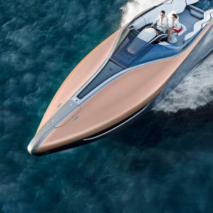 The design for the Lexus x Marquis-Carver sports yacht