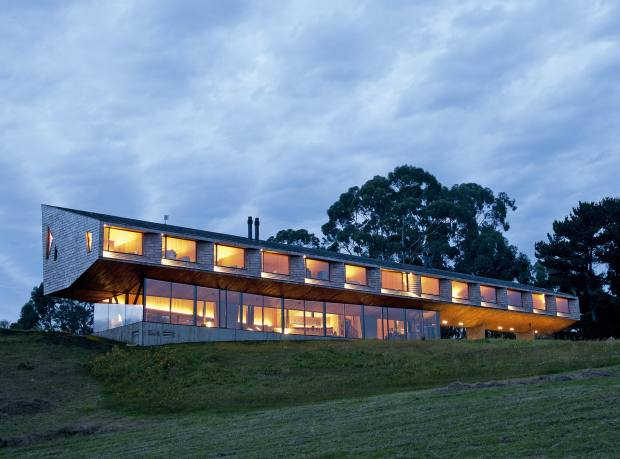 The 12-room Refugia hotel on the island of Chiloé