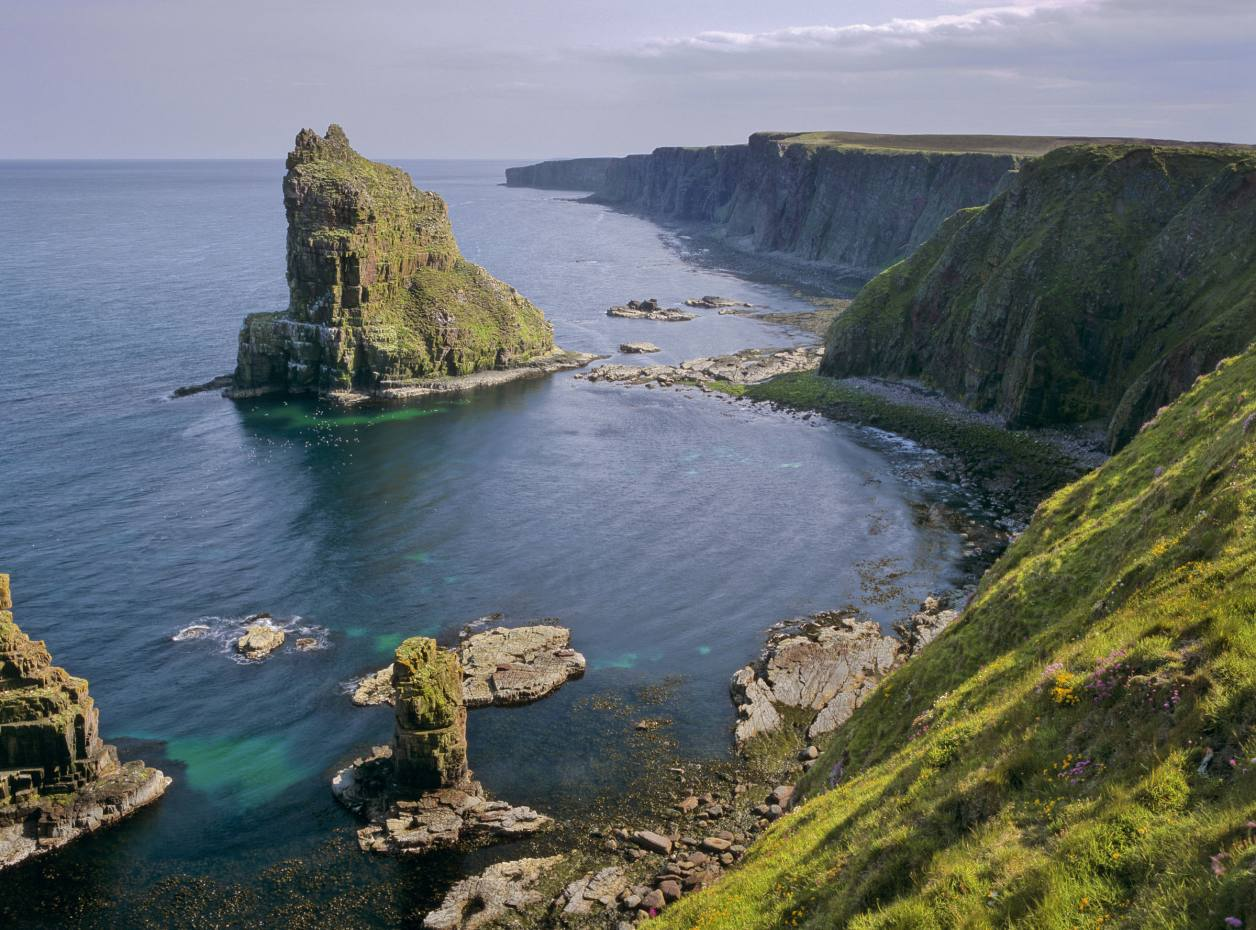 Duncansby Stacks at John O'Groats, Scotland