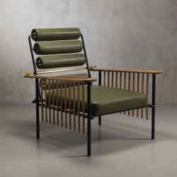 Chaise Maurice armchair by David/Nicolas, 2015, Italy