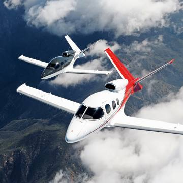 The Vision Jet is aimed at owners moving up from piston-powered planes to an aircraft that can carry more passengers, more comfortably, faster