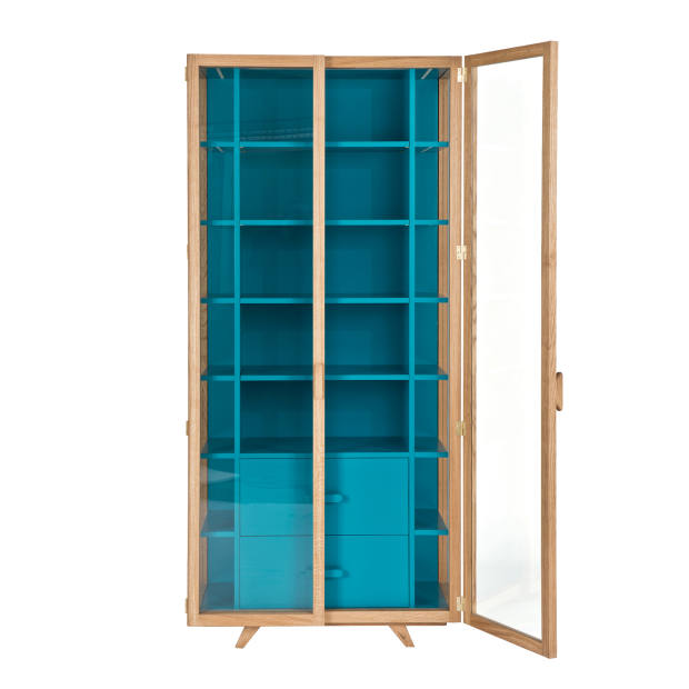 Hierve for Case Furniture oak, MDF and glass Vitrina cabinet, £3,420