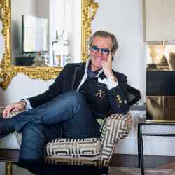 Angelo Galasso at home in London