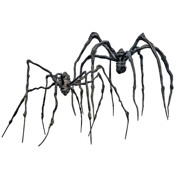 Spider and Maman byLouise Bourgeois