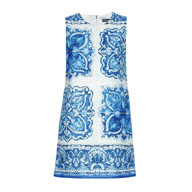 Dolce & Gabbana cotton/silk dress, £925