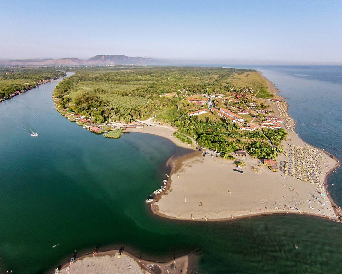 The Adriatic Sea merges with the river in Ada Bojana, a rustic paradise that boasts unusual bird species