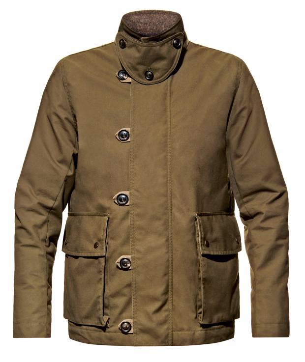 AshleyWatson waxed cottonDyneema fabric Eversholt jacket, £535