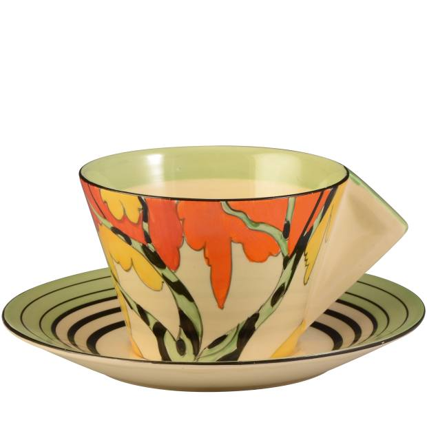 Fantasque Honolulu teacup and saucer, £475 from Andrew Muir