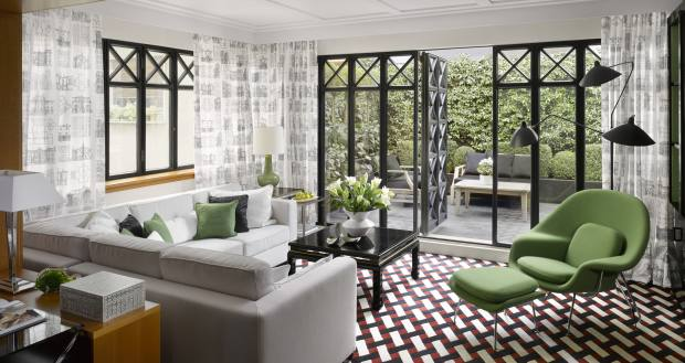 The hotel's Fashion Suite
