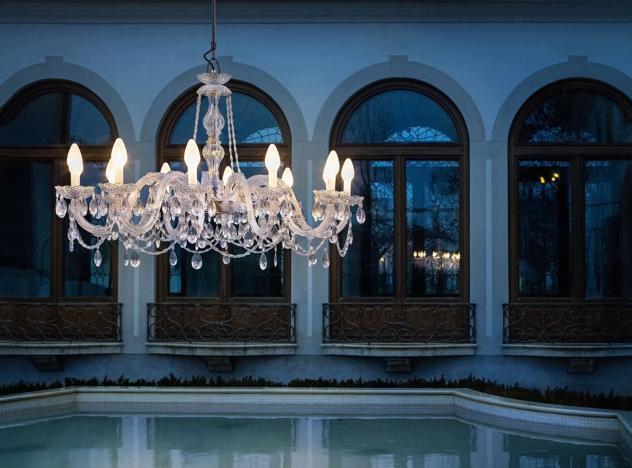 Christopher Wray Venezia chandelier, from £975