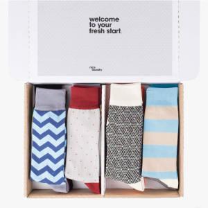 Nice Laundry's six-pair sock box, $59