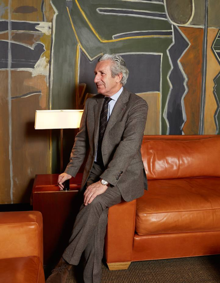 Thierry Despont at his office in New York