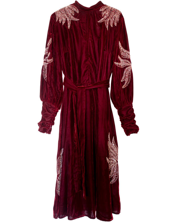 Dodo Bar Or velvet Josephine dress, £533 at Matchesfashion.com