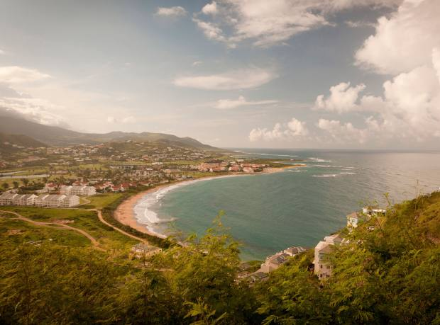 North Frigate Bay in St Kitts.