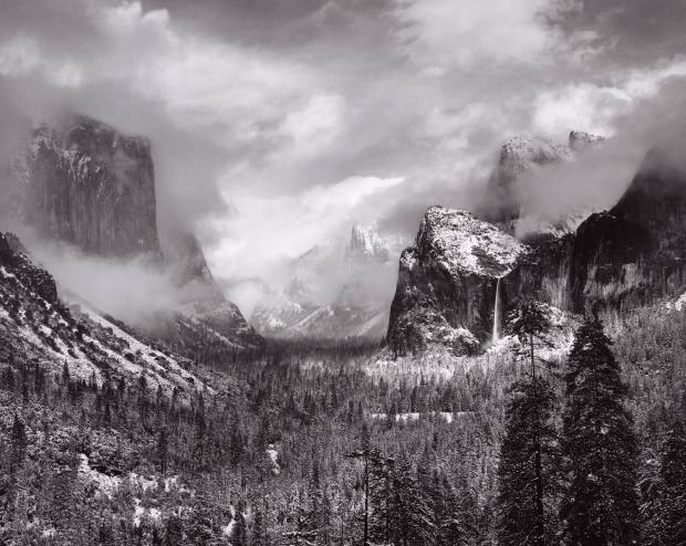 Clearing Winter Storm, 1940, by Ansel Adams