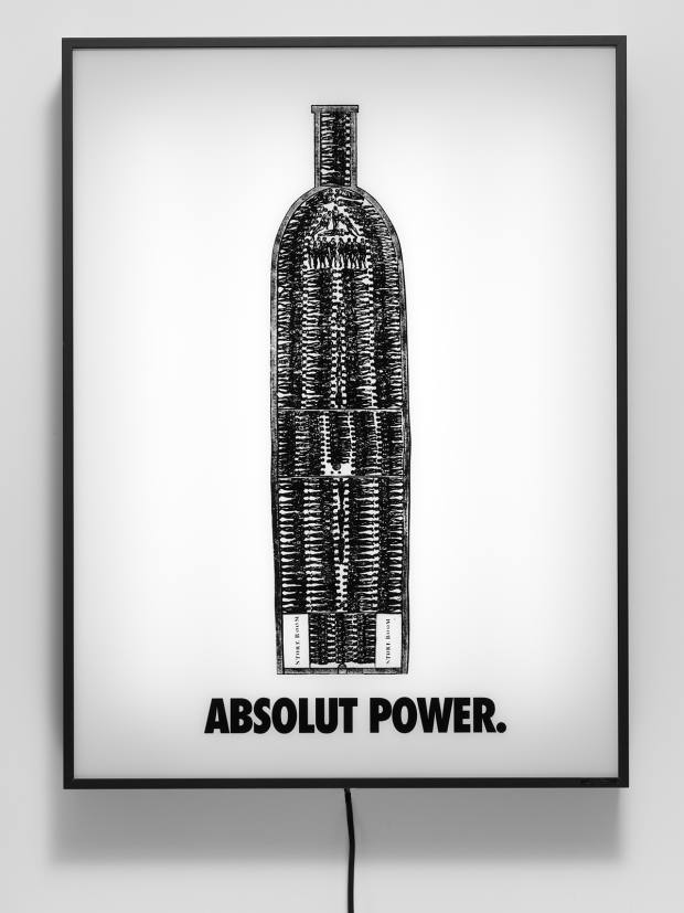 Absolut Power (2003) by Hank Willis Thomas