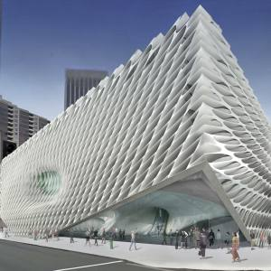 The Diller Scofidio + Renfro design for The Broad public museum of contemporary art, Los Angeles