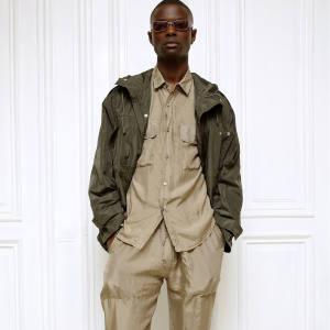 Corneliani raw-silk-look technical fabric parka, £500