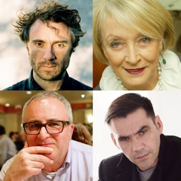 Clockwise from top left: Thomas Heatherwick, Lucia van der Post, Roland Mouret and Jonathan Margolis