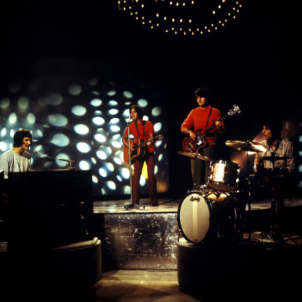 The Kinks on Top Of The Pops, 1968