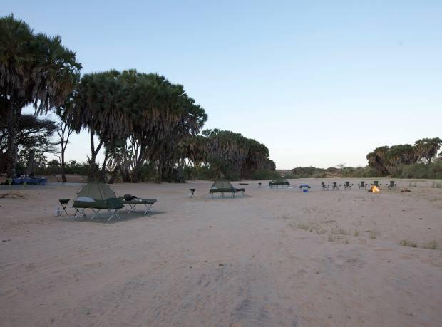 Journeys by Design's Sera fly camp in Kenya