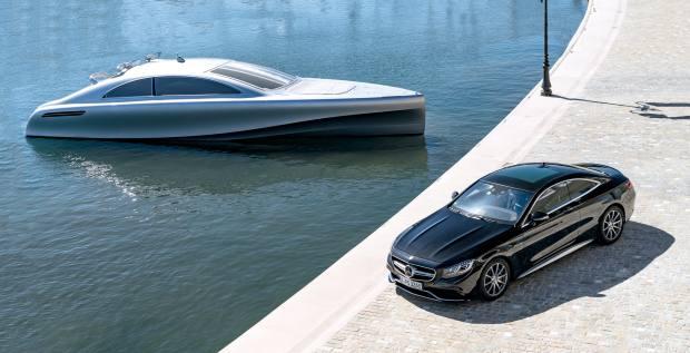 Silver Arrows Marine x Mercedes-Benz Style motoryacht, €2.5m