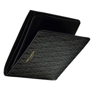 Saint Laurent classic toile monogram  East/West wallet in canvas and leather, £245