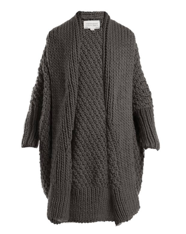 I Love Mr Mittens wool coat-style cardigan, £468